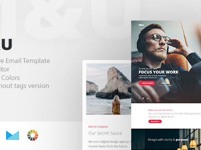 M&U - Responsive Email + StampReady Builder (Email Templates)