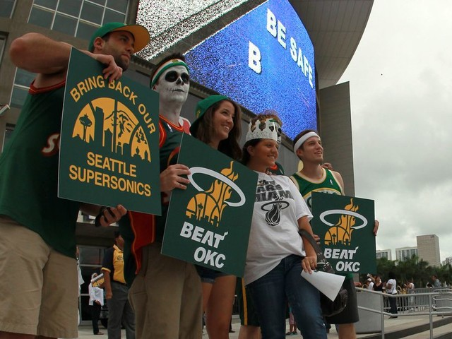 Seattle's fight to bring back the Sonics never stopped: A timeline