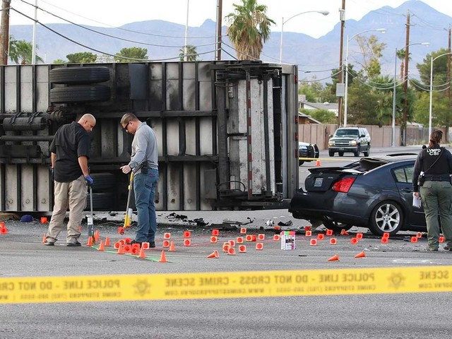 Las Vegas man killed in suspected DUI crash identified