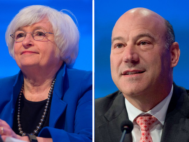 White House says Fed chair search down to 5 finalists, including Yellen, Cohn