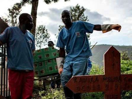 WHO: Warring Militias Caused Ebola Cases to Nearly Triple in One December Week