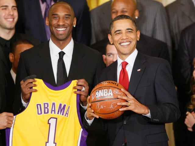 Former President Barack Obama pays tribute to late 'legend' Kobe Bryant