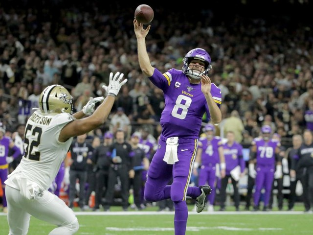 Kirk Cousins upended the narrative with his game-winning drive vs. Saints
