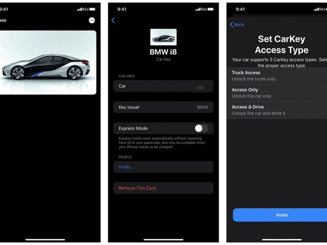 CarKey Screenshots Reveal Digital Keys in Wallet App, BMW Likely to Support Feature at Launch