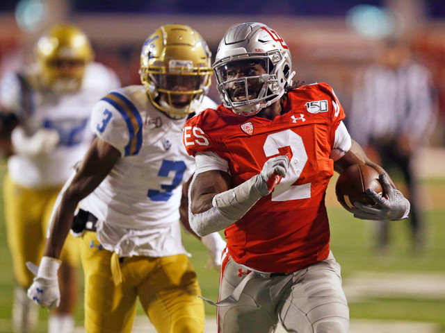 Zack Moss, No. 7 Utah rout UCLA football in Pac-12 South showdown