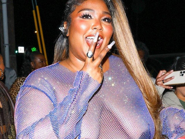 Lizzo Claps Back at Critics After Wearing See-Through Dress to Cardi B's Birthday Party