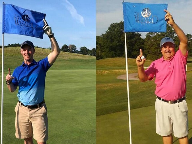 Incredibly rare: Dad-son golf outing in Myrtle Beach on Father's Day beats astronomical odds