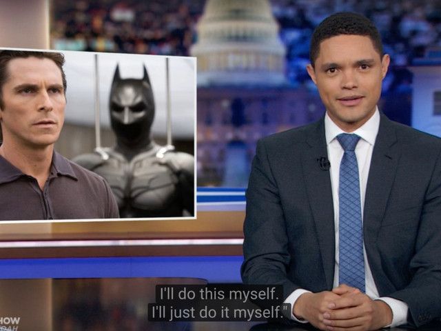 'The Daily Show's Trevor Noah Has A Theory About Michael Bloomberg & Batman