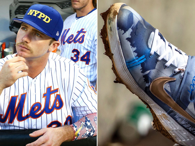Mets' Pete Alonso wasn't about to let MLB stop his 9/11 tribute