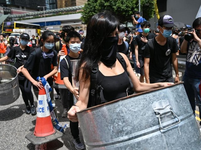 Hong Kong protesters take to the streets again after government apology falls flat