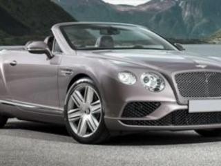 2017 Bentley Continental--GTC V8