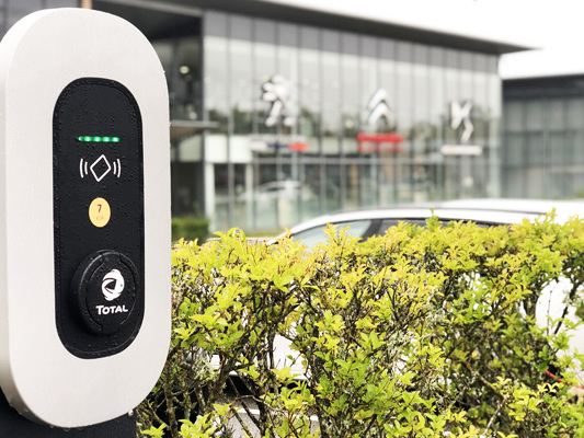 Groupe PSA Installs EV Charging Points at all 49 Group sites, in 12 Countries
