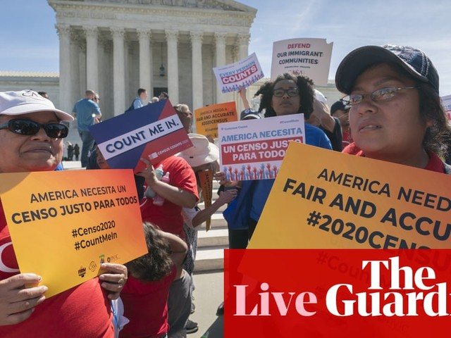 House panel votes to hold Trump officials in contempt over census citizenship question – live