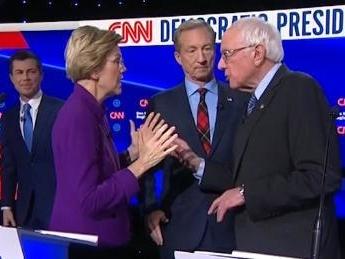 CNN Under Fire For Overtly Hostile Treatment Of Sanders In Iowa Debate