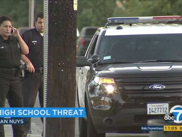 Shooting threat prompts heightened security at Van Nuys High School
