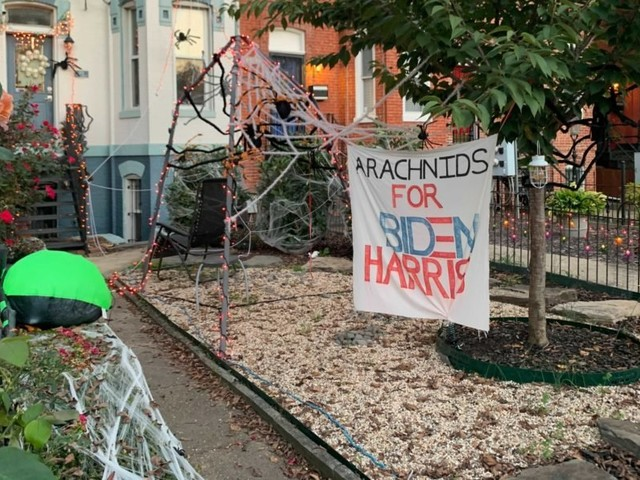 Halloween Decorations Turn Political Because America in 2020 Is Terrifying