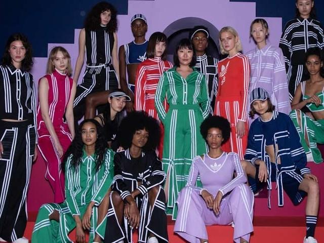 Adidas Originals debuts collaboration with Ji Won Choi at London Fashion Week
