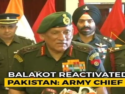 Balakot Reactivated Very Recently, Says Army Chief On Jaish Camp In Pak