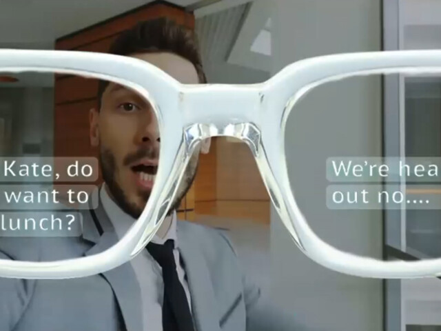Xander Live-Caption Glasses in Competition