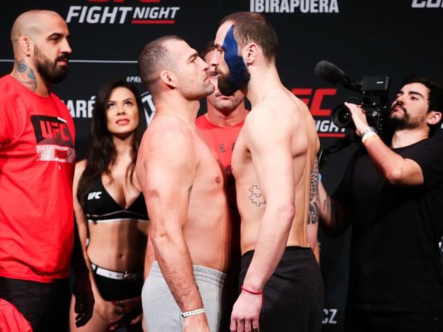 Mauricio 'Shogun' Rua Battles Paul Craig in a Barn Burner to a Draw at UFC Sao Paulo