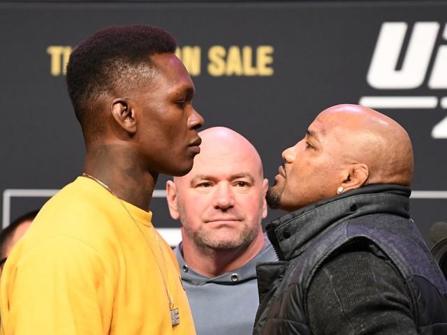 UFC 248: Adesanya vs. Romero alternative stats
