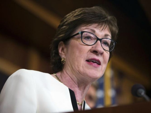 GOP Sen Collins: 'Very Difficult' to Envision Scenario Where I Would Vote for Graham-Cassidy