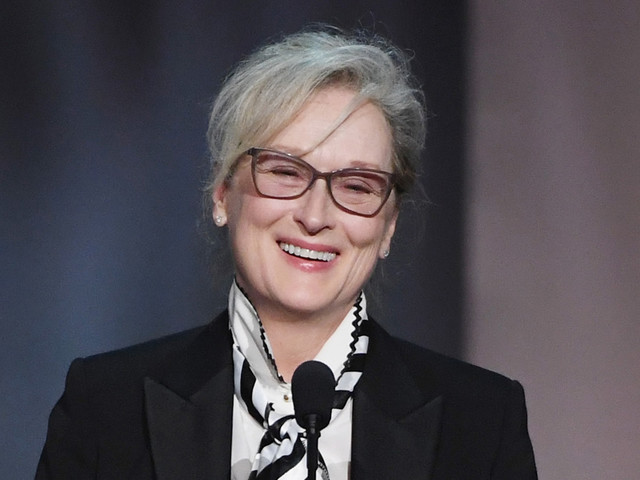 Meryl Streep Reacts to 31st Golden Globe Nomination!