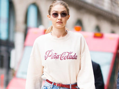 Gigi Hadid Is Wearing These 5 Denim Trends Right Now--Shop her Style!