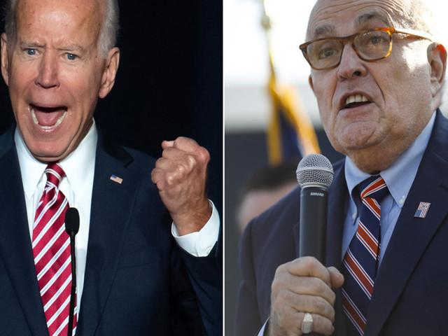 Joe Biden's campaign demands major news outlets stop booking Rudy Giuliani to speak about Ukraine