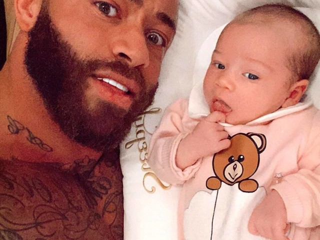 The Challenge Star Ashley Cain's Terminal Infant Hospitalized Over Concerns of Bleeding Out