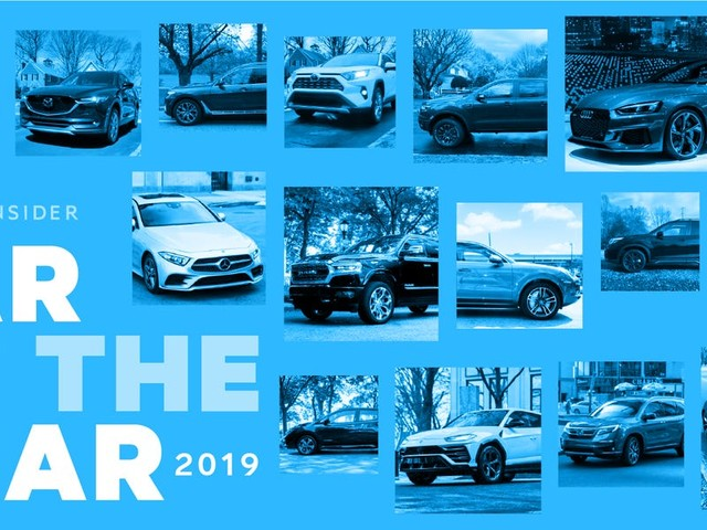 One of these 16 finalists will become Business Insider's 2019 Car of the Year
