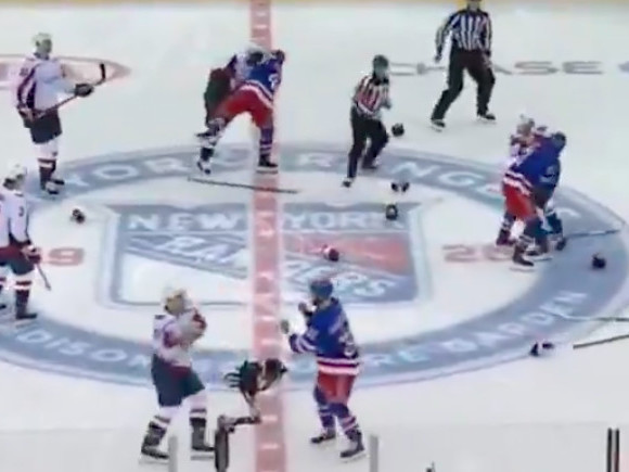 Why Capitals-Rangers opened with a massive brawl