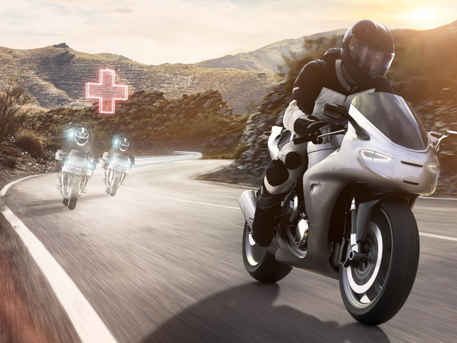 Bosch Makes A 'Digital Guardian Angel' For Motorcycle Riders