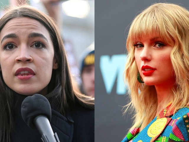 Alexandria Ocasio-Cortez weighs in on the Taylor Swift music feud and takes aim at private equity firms