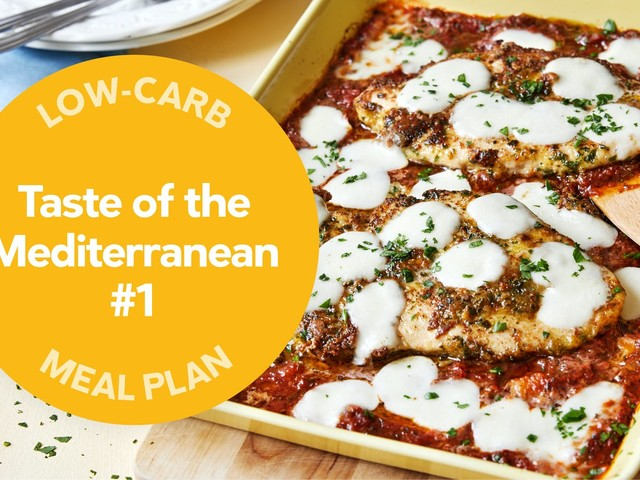 Low-carb meal plan: Taste of the Mediterranean #1