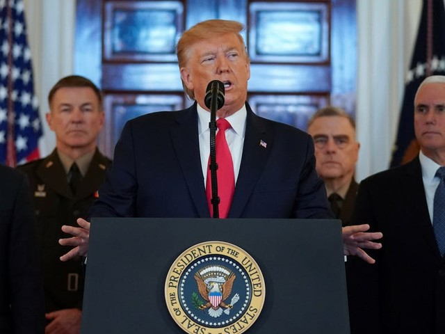 Trump is stepping away from the brink of war with Iran after a missile attack, but the roots of their dispute dangerously persist