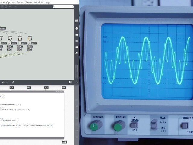 This Max for Live patch demonstrates critical digital audio concepts