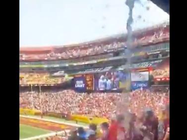 The 'raw sewage' leak on Washington fans, explained