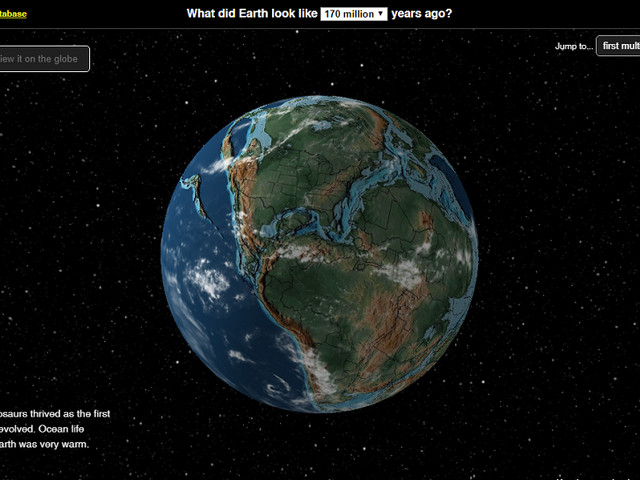 Cool interactive map shows you the history of the continents