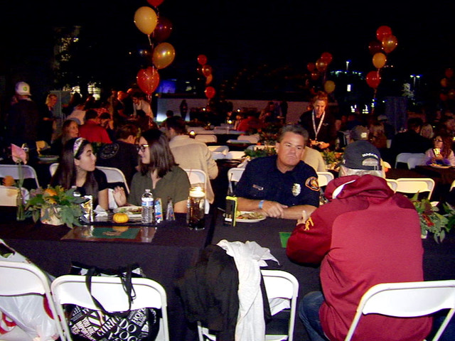 Thanksgiving dinner held for those affected by Woolsey Fire, mass shooting