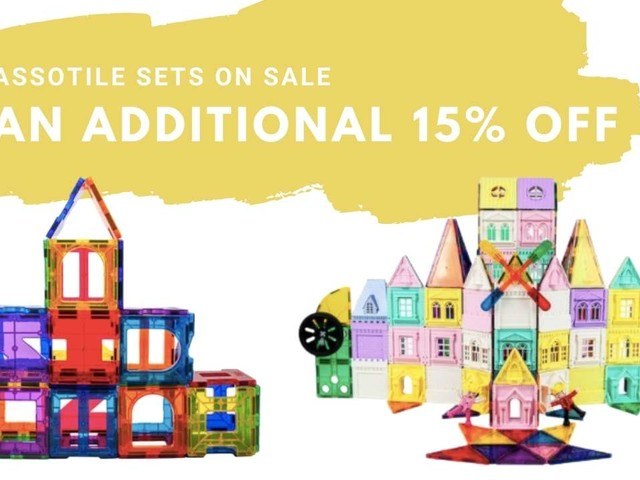 PicassoTile Zulily Deals + Extra 15% Off Today Only