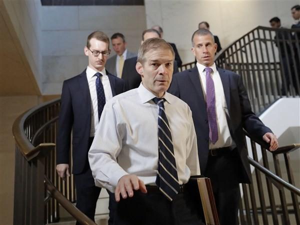 Three Ohio Republicans key players in Trump impeachment hearings