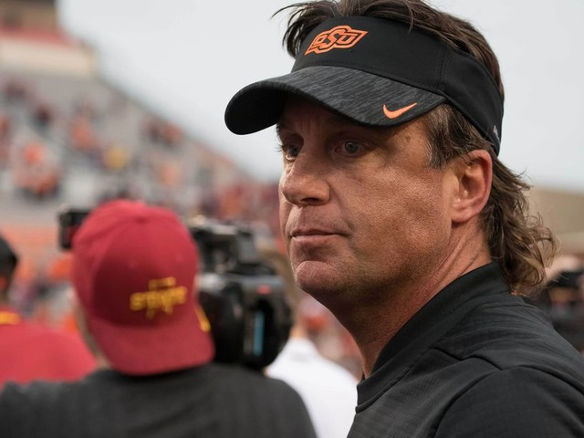 Mike Gundy's been a 'snowflake' plenty of times before