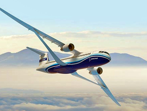 What's this? New Boeing jet would fly higher, faster