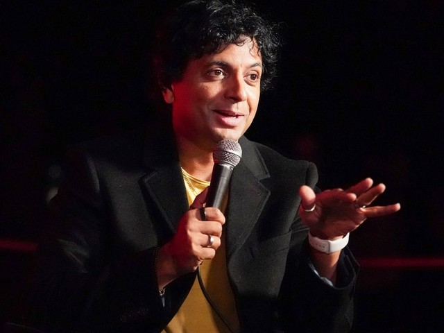 M. Night Shyamalan reveals his next movie with a poster and a teasing set photo