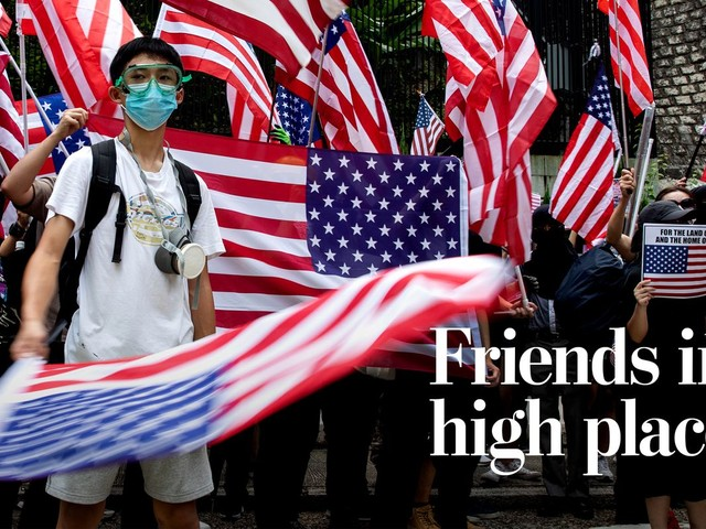 U.S. politicians embrace Hong Kong's struggle, raising the stakes for China