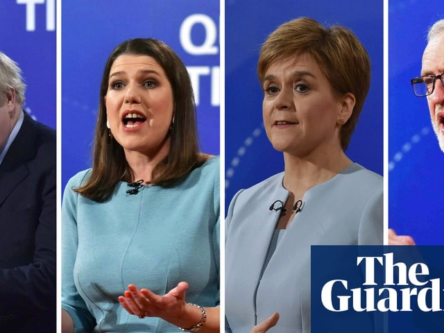 General election 2019: Question Time leaders special – video highlights