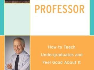 Author discusses his new book on teaching undergraduates
