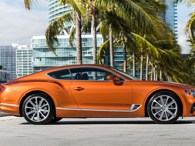 Bentley Continental GT V8 Launching Ahead of W-12 Variant