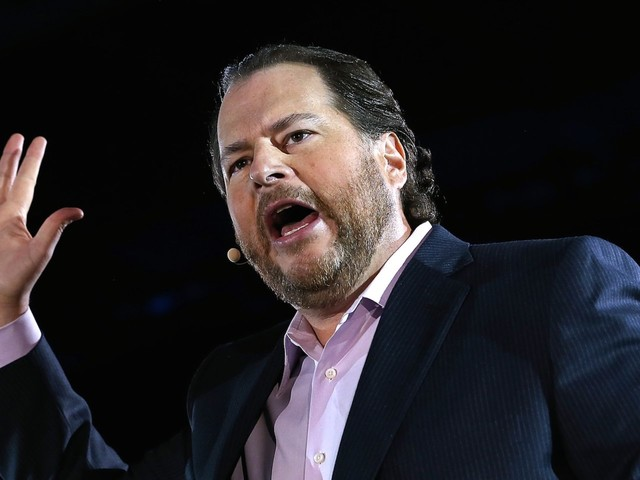Salesforce's surprise $15.7 billion acquisition of Tableau is a shot at Microsoft and SAP (CRM, DATA)